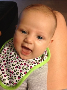 We love hearing her squeals!